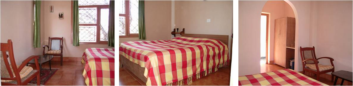 Double Room (Tariff Rs 1,500 per night + taxes)