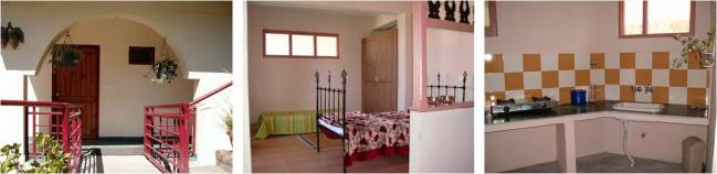 Family room (Tariff Rs 2,000 per night + taxes)